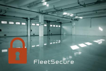 Lege parkeergarage FleeSecure Fleet Loqater